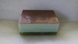 We also have this soap without the scrubby texture. Specify when ordering which soap you prefer.