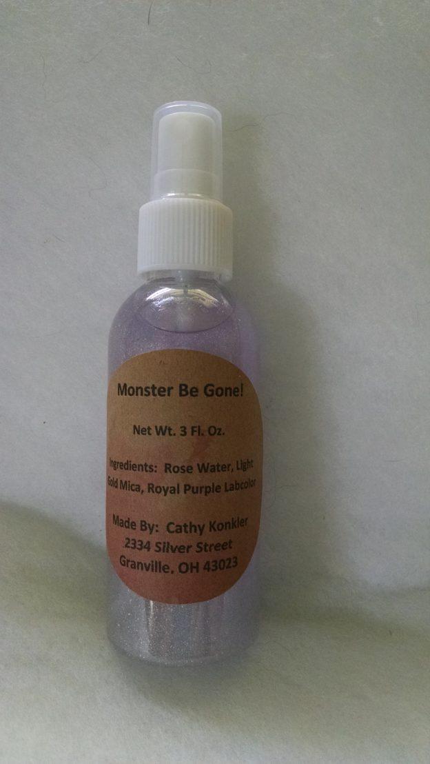 Monster Be Gone! Magic Spray